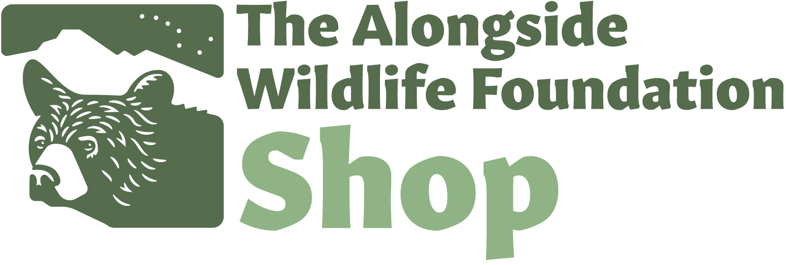 Logo for The Alongside Wildlife Foundation Shop