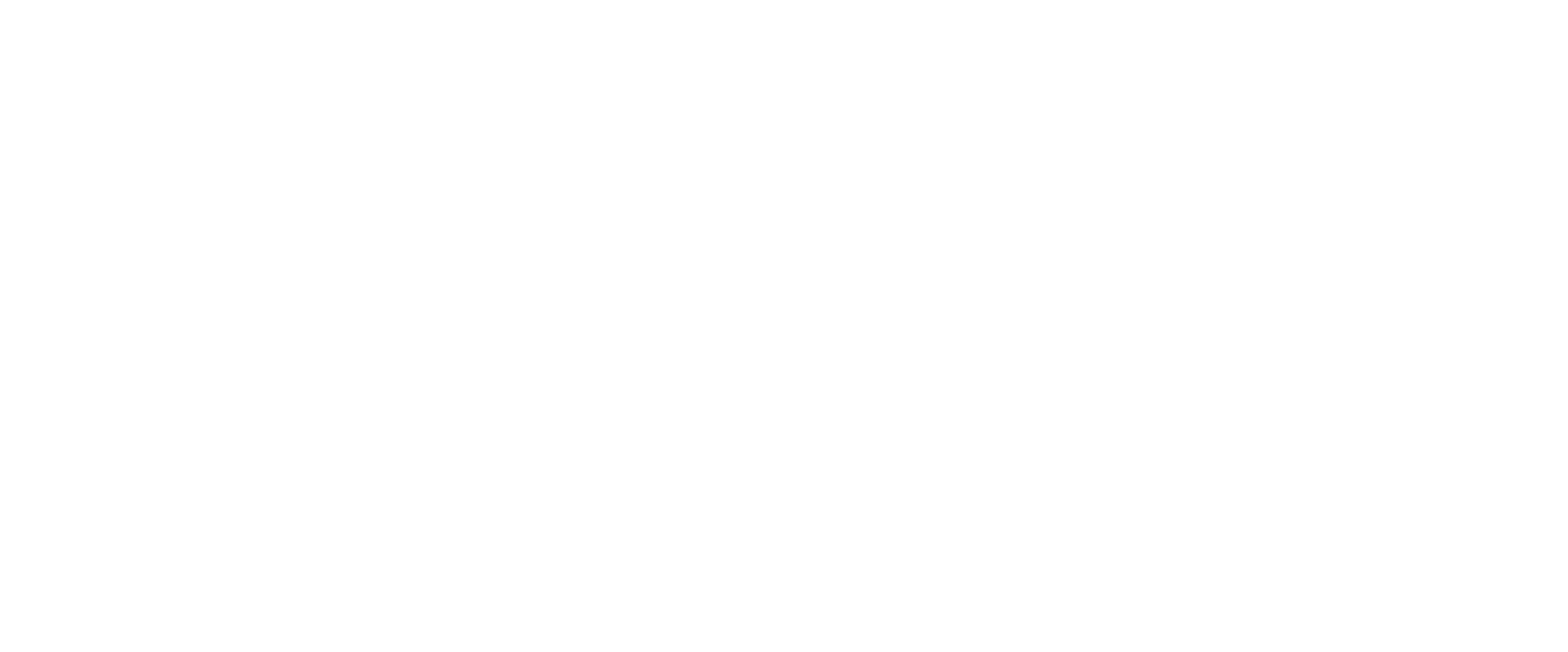The Alongside Wildlife Foundation logotype, featuring a black bear in profile. White artwork beside white text.